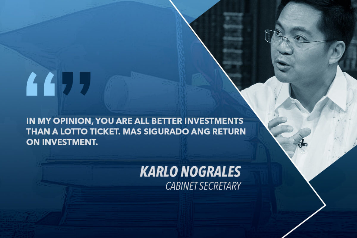 FREE COLLEGE TUITION LAW AN INVESTMENT IN THE FUTURE — NOGRALES