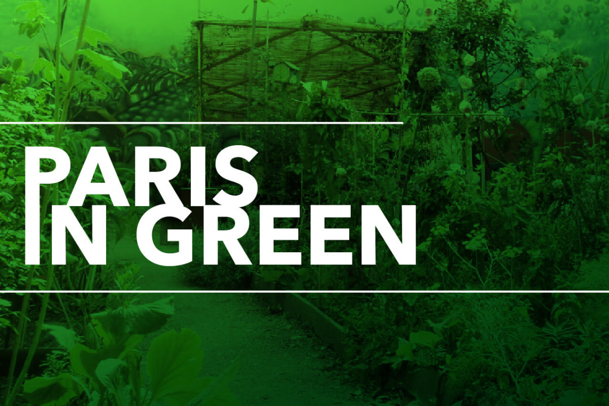 GOING GREEN IN PARIS