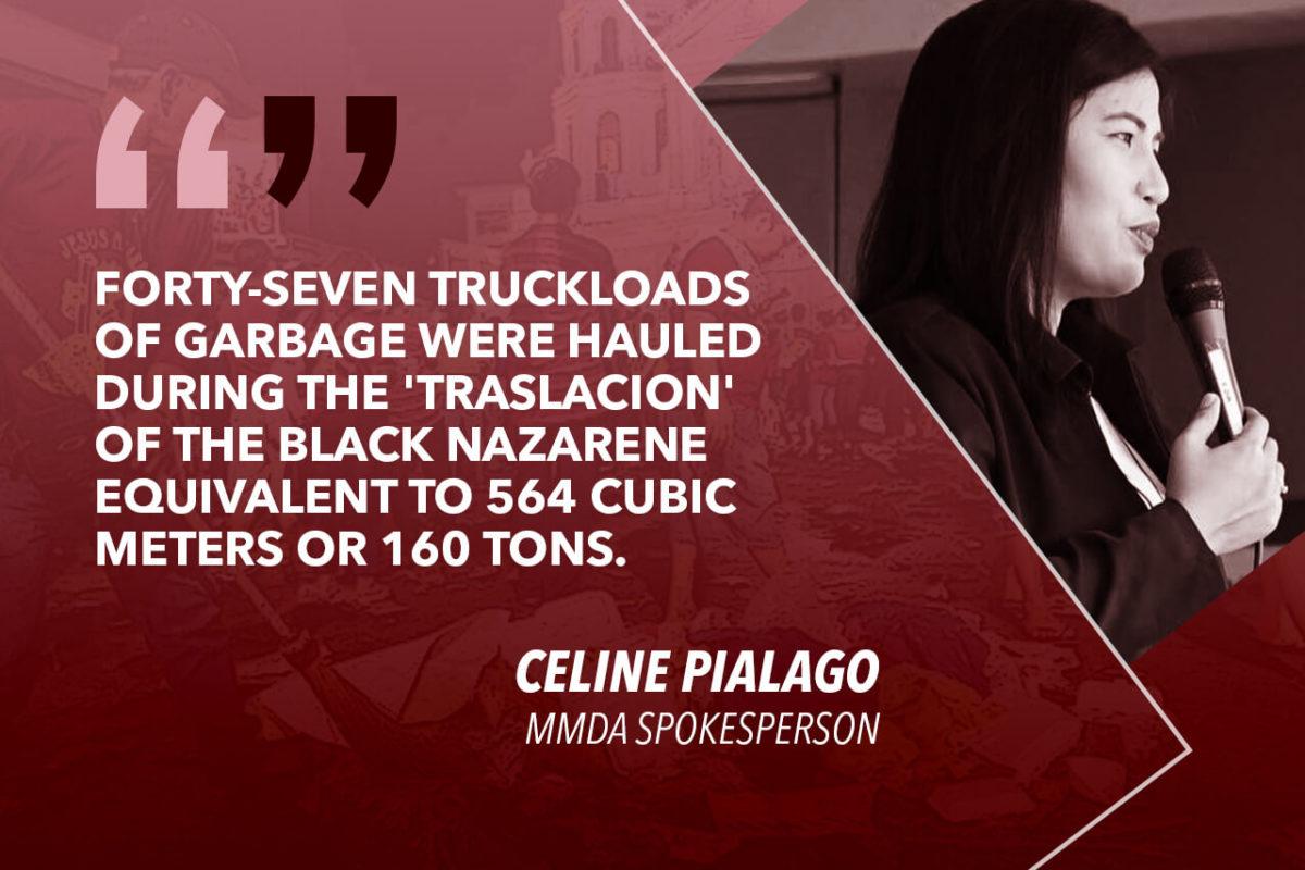 MMDA HAULS 47 TRUCKLOADS OF GARBAGE FROM 'TRASLACION' – PIALAGO