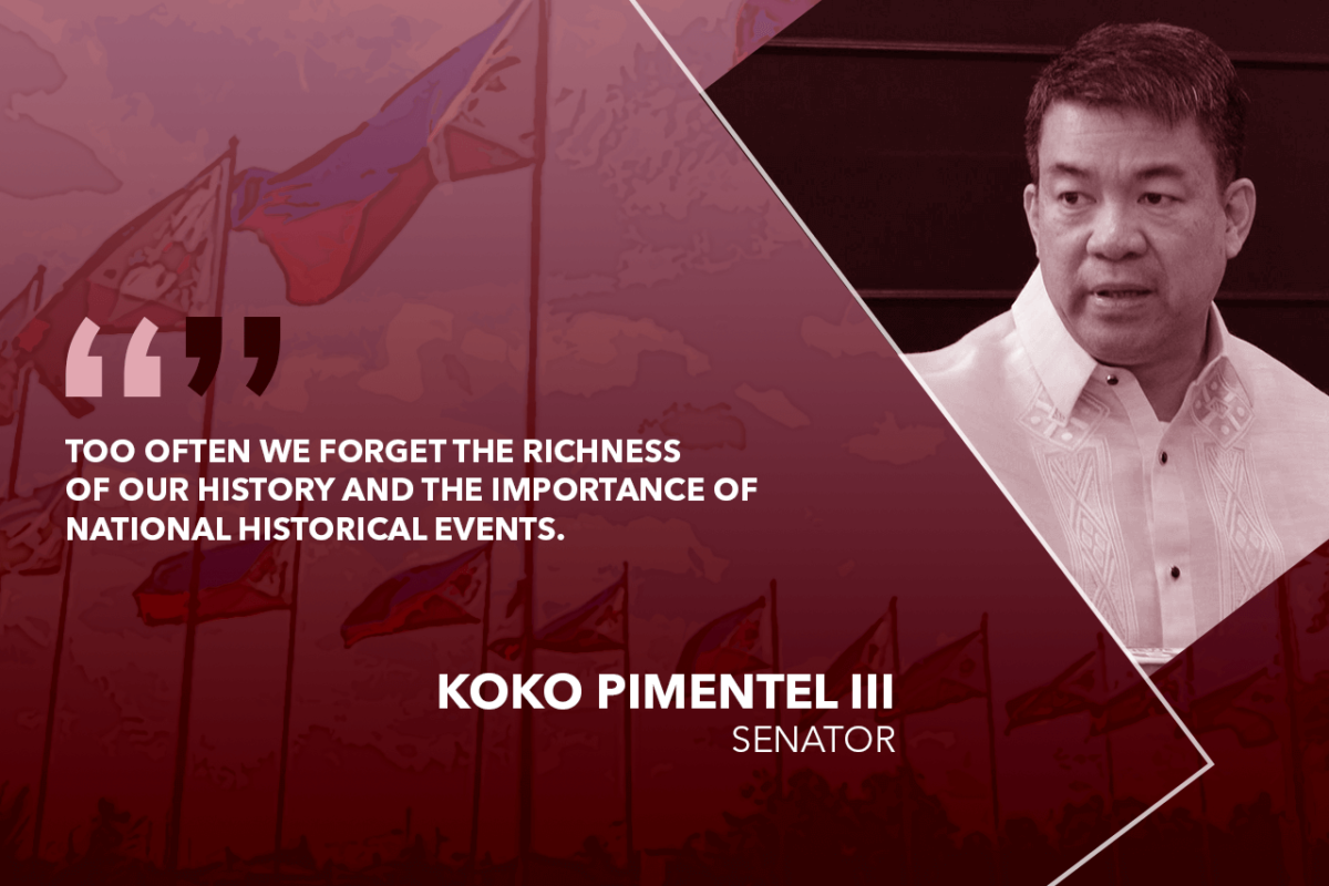 CELEBRATE NATIONHOOD ON PHILIPPINE REPUBLIC DAY – PIMENTEL
