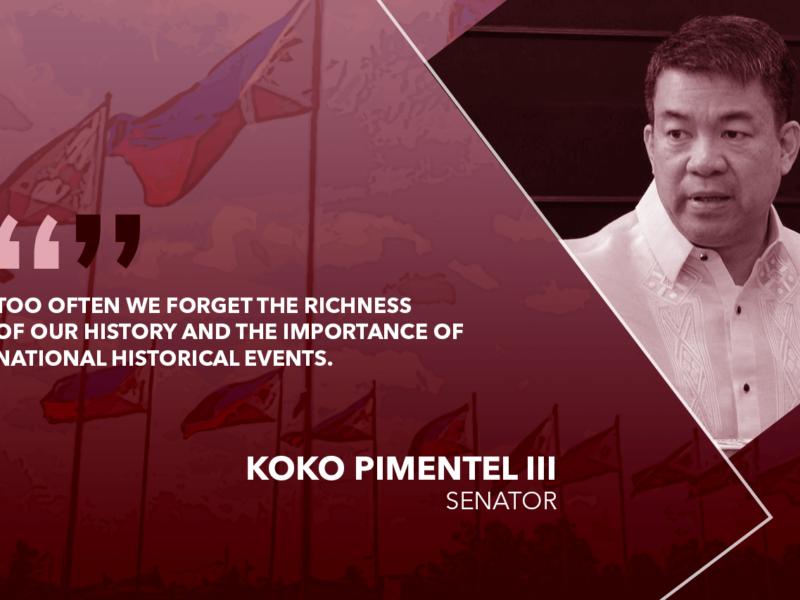 CELEBRATE NATIONHOOD ON PHILIPPINE REPUBLIC DAY – PIMENTEL