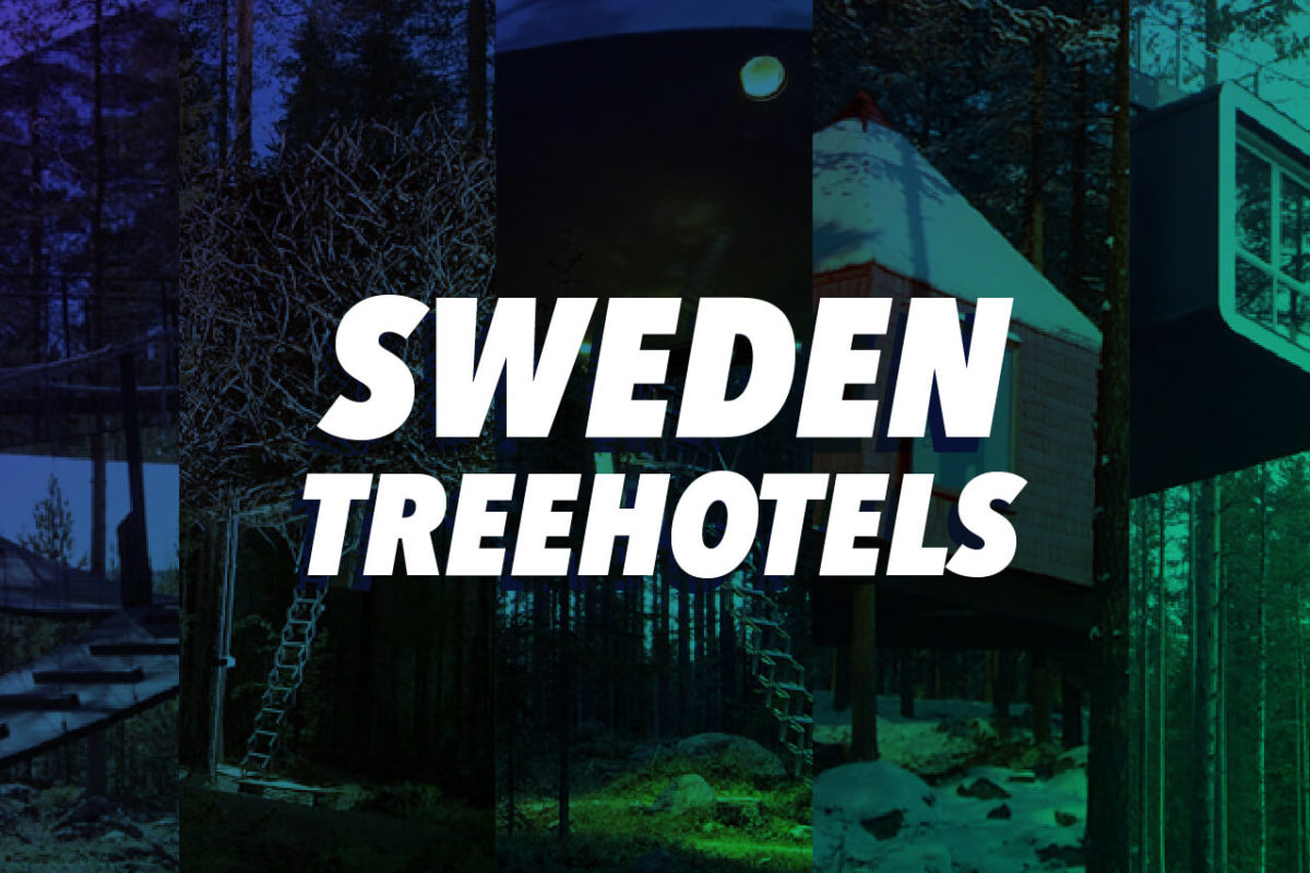 SWEDEN'S INSANELY COOL TREEHOTEL