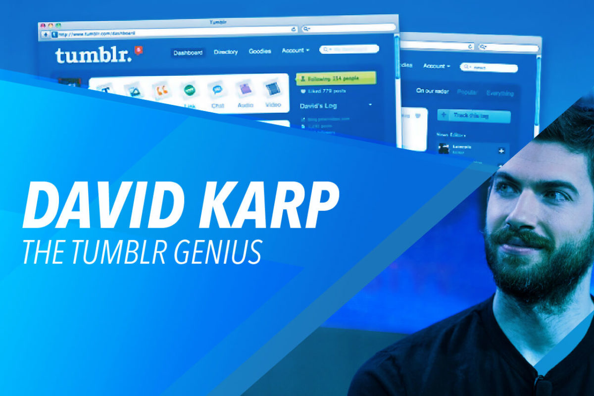 DAVID KARP: THE BOY BEHIND TUMBLR