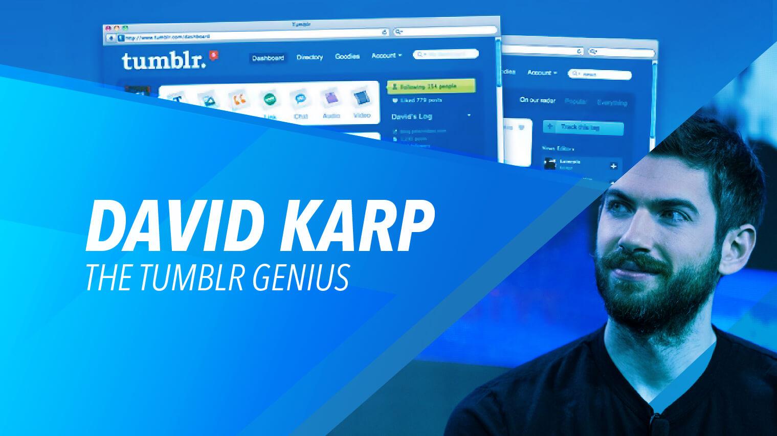 David Karp The Boy Behind Tumblr Ikotph