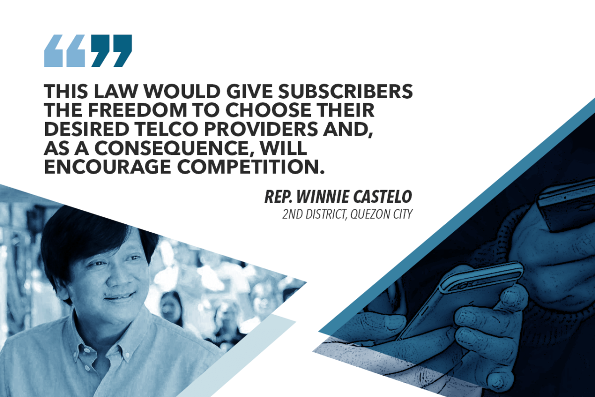 MNP ACT A VICTORY FOR MOBILE PHONE SUBSCRIBERS – CASTELO