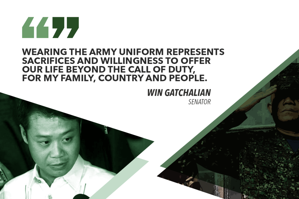 BEING PART OF THE ARMY RESERVE IS A WAY OF SHOWING LOVE OF COUNTRY – GATCHALIAN