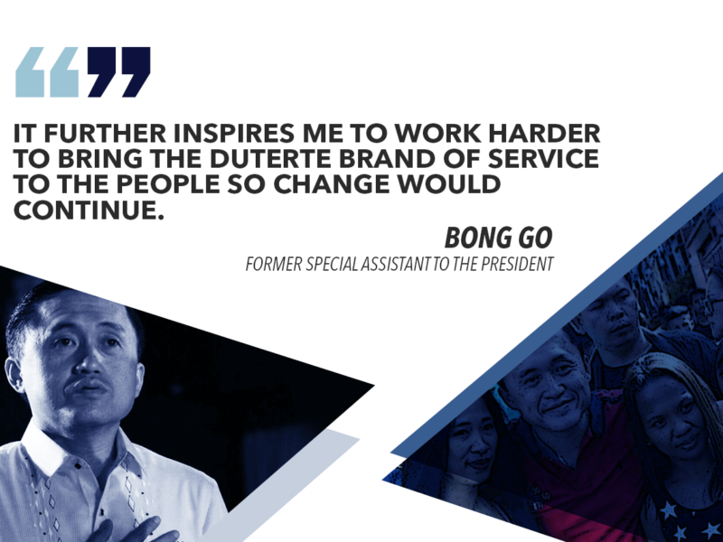LANDING IN PULSE ASIA SURVEY'S MAGIC 12 INSPIRES ME TO WORK HARDER – GO