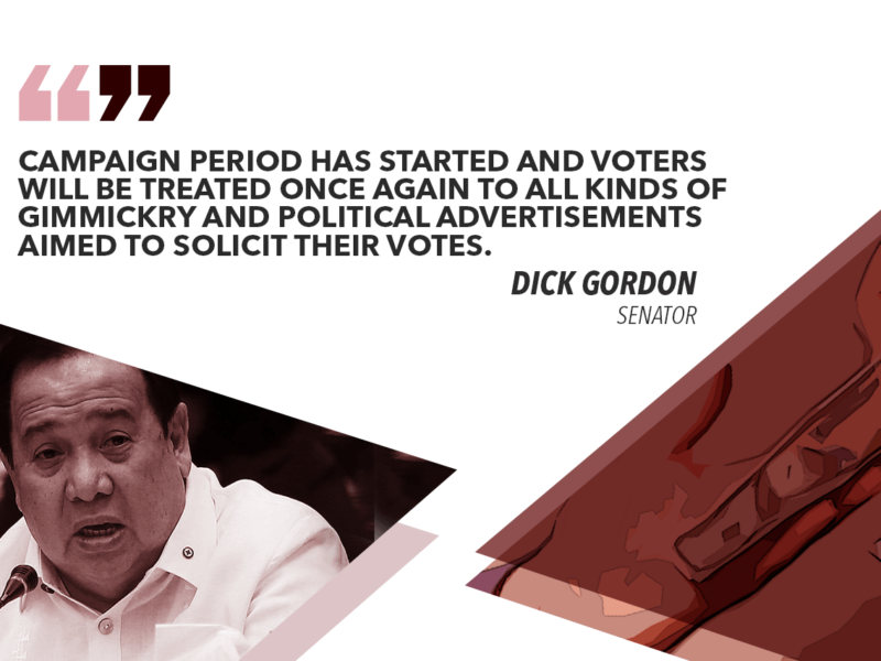 GO BEYOND GIMMICKRY, POLITICAL ADS WHEN CHOOSING LEADERS – GORDON