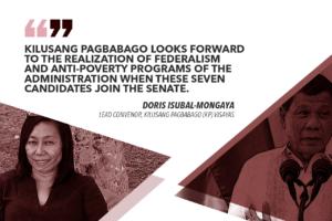 MABAGOKOTO + EJERCITO, VILLAR TO HELP PUSH DUTERTE AGENDA – KILUSANG PAGBABAGO