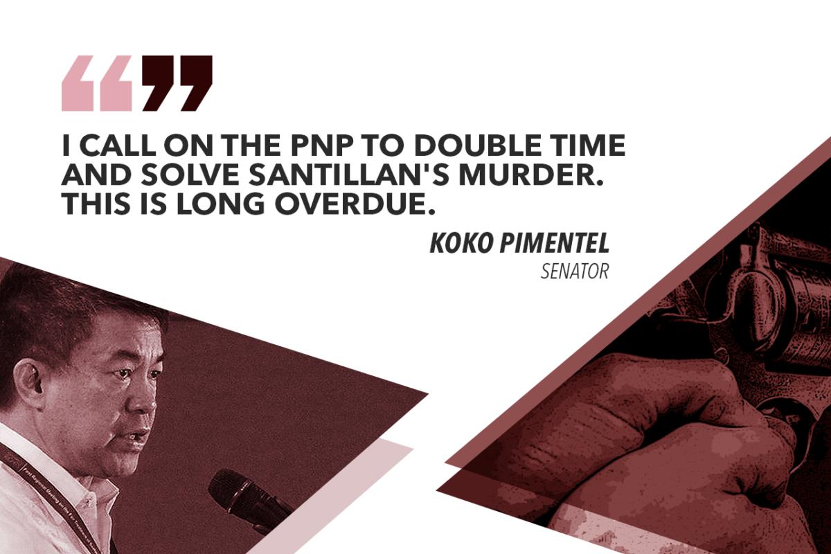 PIMENTEL TO PNP: SOLVE SANTILLAN MURDER