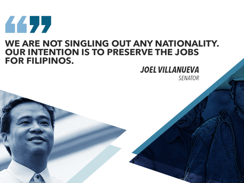 9 OF 10 ARRESTED ILLEGAL FOREIGN WORKERS ARE CHINESE NATIONALS – VILLANUEVA