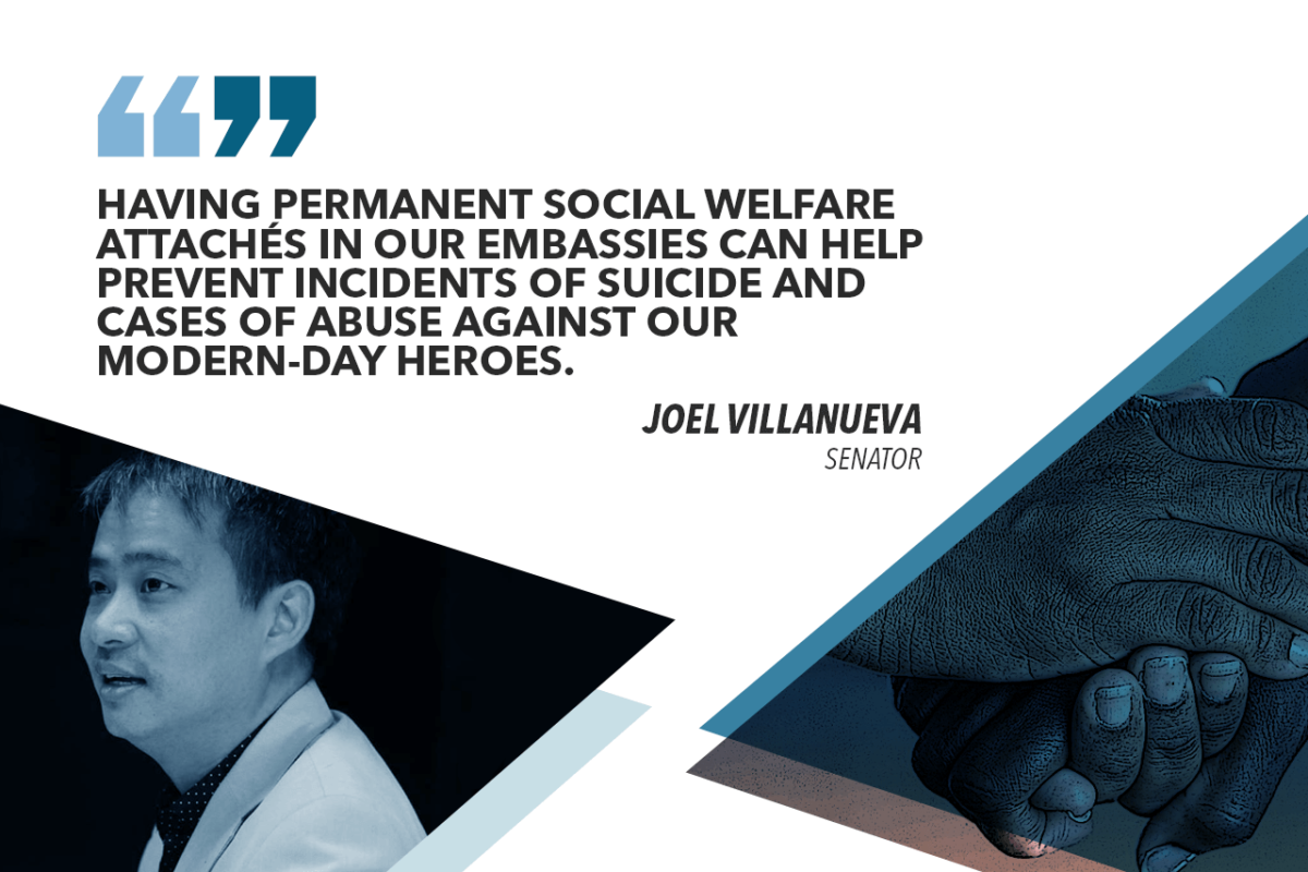 SENATE RATIFIES BILL CREATING OFW SOCIAL WELFARE ATTACHE – VILLANUEVA
