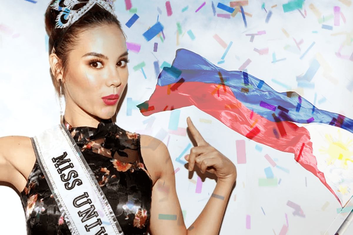 GRAND HOMECOMING PARADE AWAITS MISS UNIVERSE CATRIONA GRAY