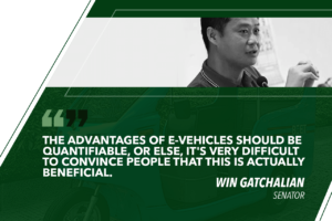 GATCHALIAN TO DOE: CRAFT ROADMAP FOR E-VEHICLE ADOPTION