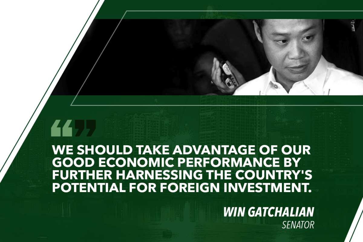 IT IS TIME TO LIFT FOREIGN OWNERSHIP LIMITS – GATCHALIAN