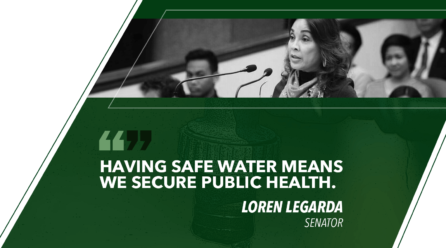 ENSURE AVAILABILITY AND SUSTAINABLE MANAGEMENT OF WATER FOR ALL – LEGARDA