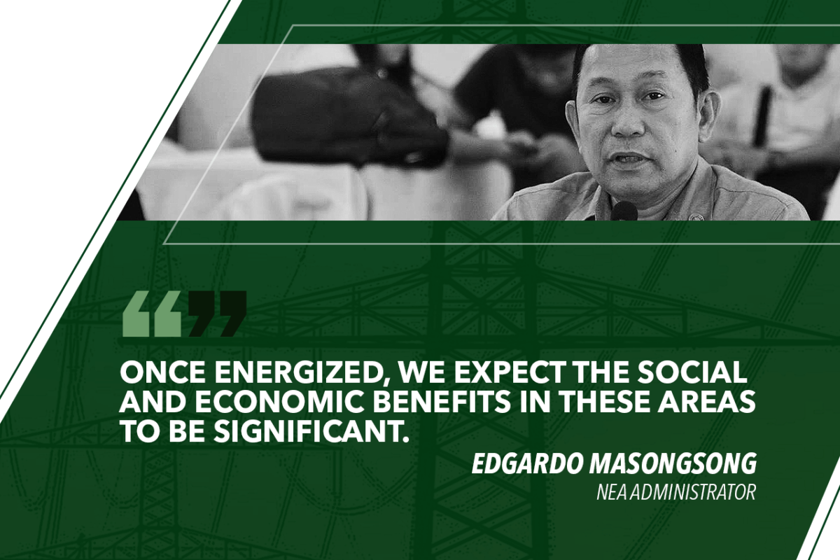 MORE AREAS TO BE ENERGIZED IN SARANGANI AND SOUTH COTABATO UNDER SEP – MASONGSONG