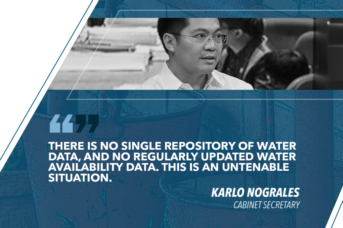 GOV'T EYEING SHORT AND LONG-TERM SOLUTION TO PH WATER CHALLENGES – NOGRALES