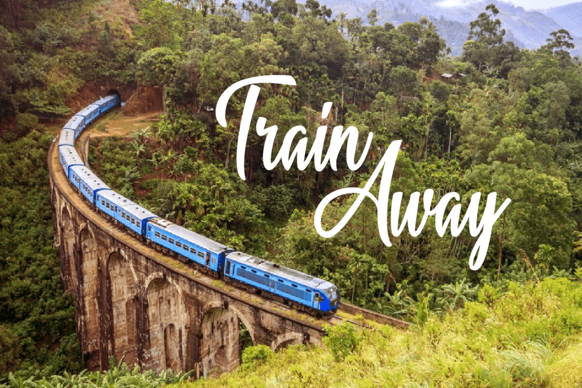 SRI LANKA'S BEST TRAIN RIDE