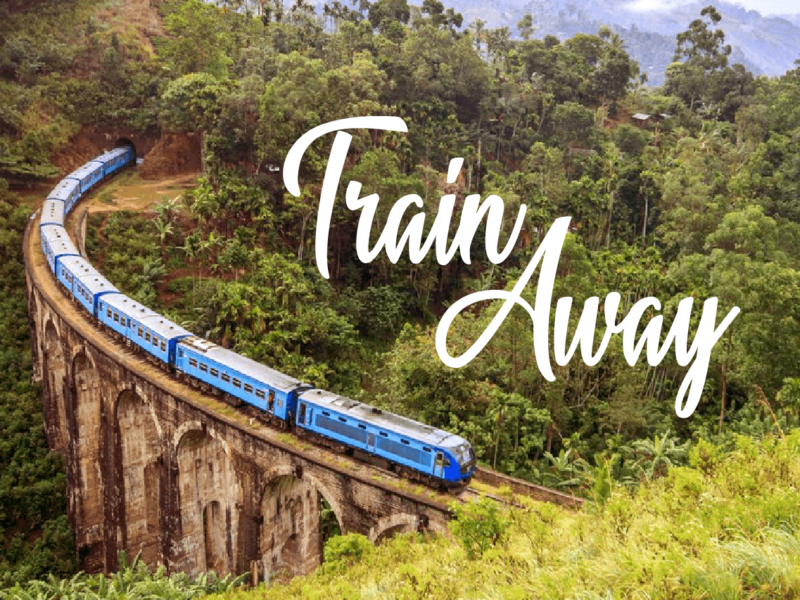 SRI LANKA'S BEST TRAIN RIDE