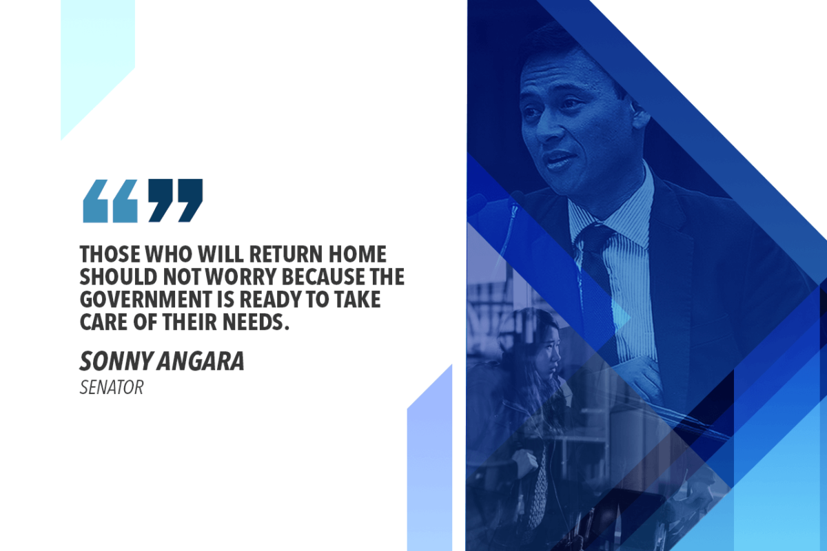 OFWs REPATRIATED FROM LIBYA TO GET GOV'T AID – ANGARA