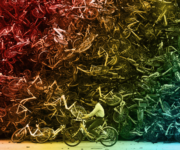 CHINA'S BICYCLE GRAVEYARD