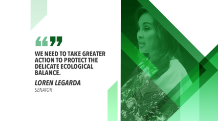 LEGARDA JOINS EARTH DAY CALL: PROTECT SPECIES FROM EXTINCTION