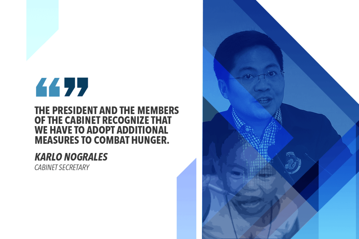 PALACE TO FORM TASK FORCE ON ZERO HUNGER – NOGRALES