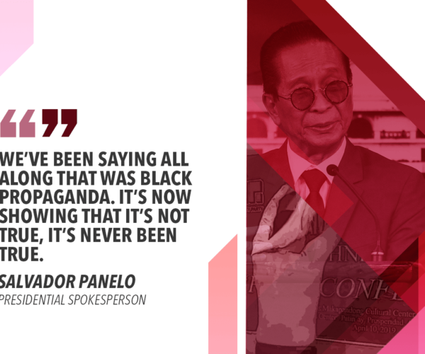 GO BARING TATTOO-FREE BACK DISPROVES ALLEGED DRUG LINKS – PANELO