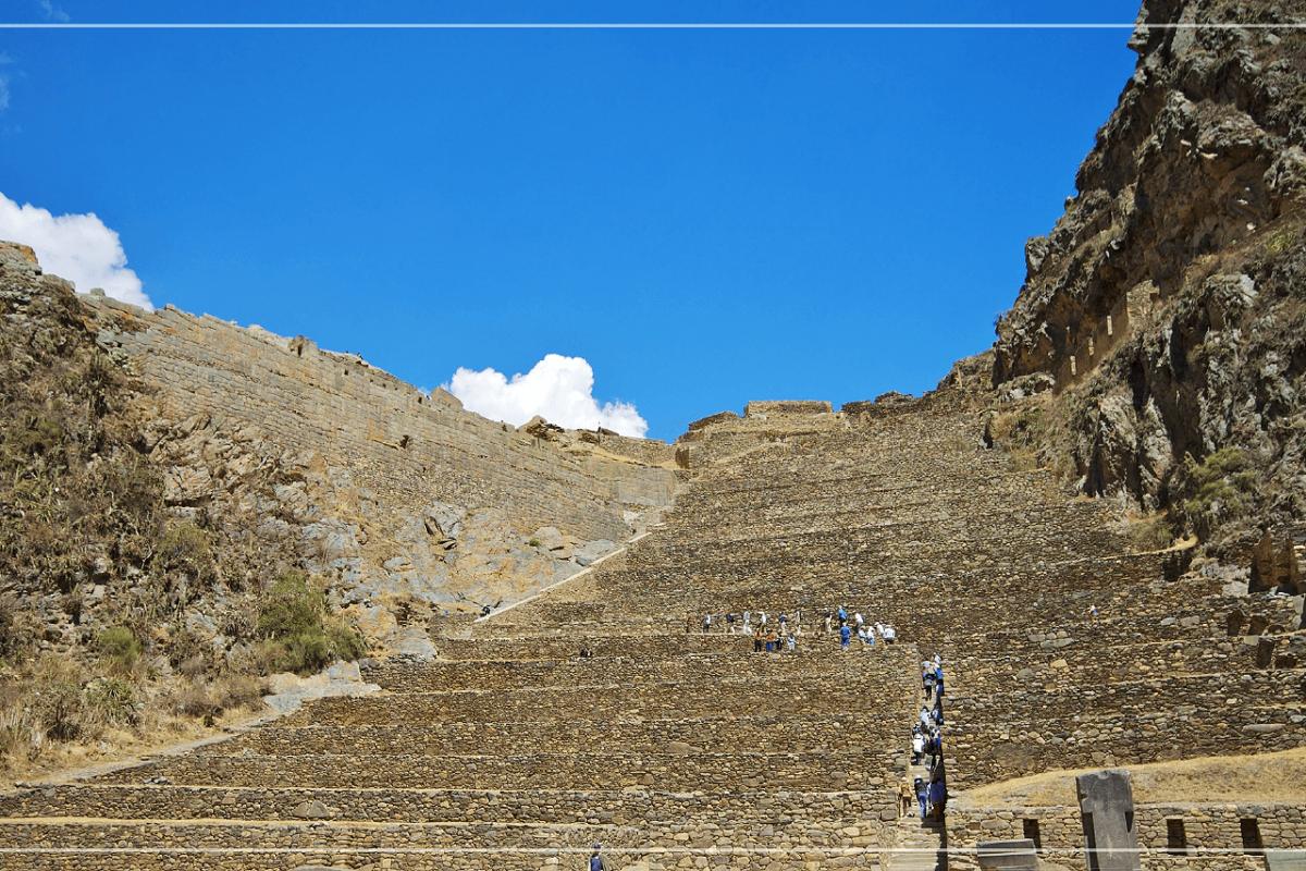 PERU'S OLLANTAYTAMBO RUINS: ANCIENT INCA TEMPLE AND FORTRESS