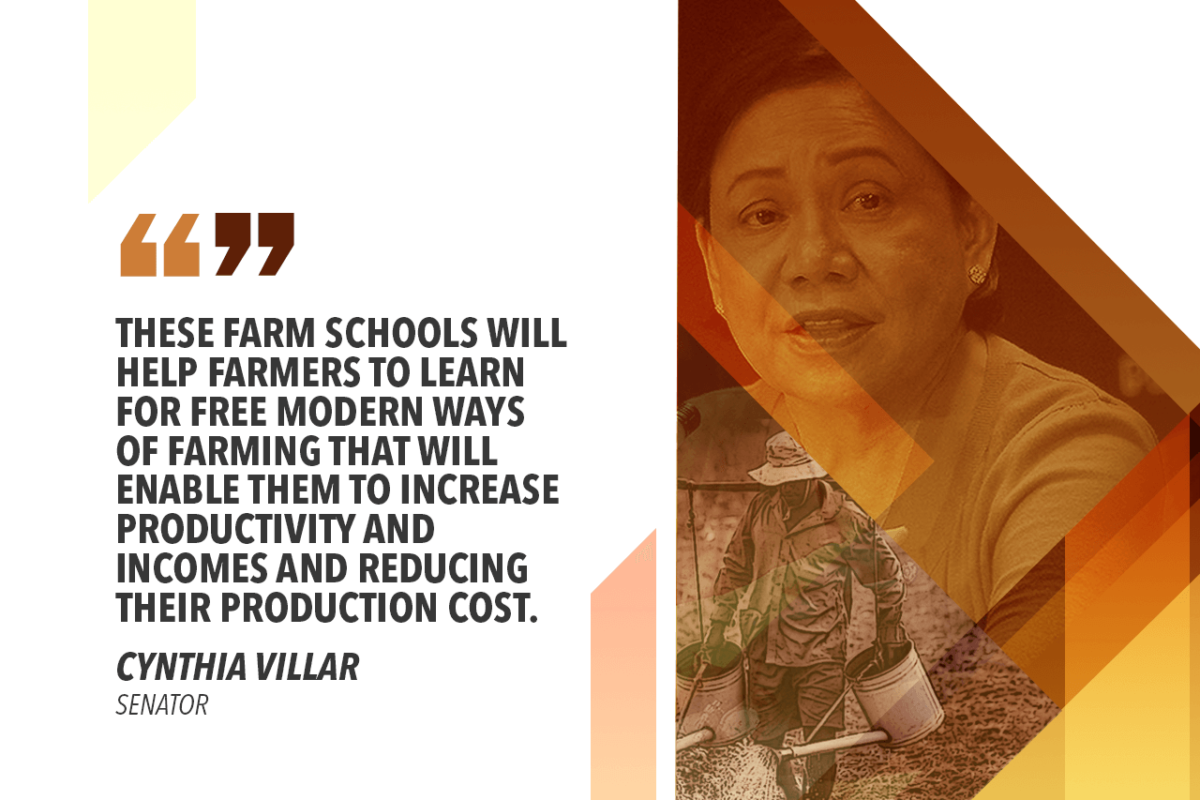 OPEN FARM SCHOOLS IN AGRICULTURAL TOWNS – VILLAR