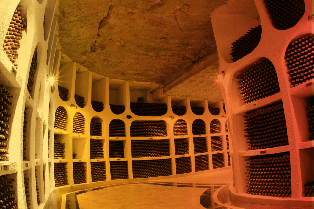 THE WORLD'S LARGEST WINE CELLAR