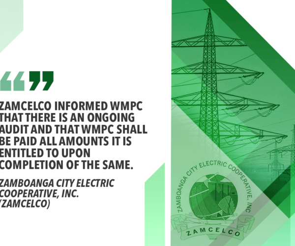 NEA TO ZAMBOANGA CITY ELECTRIC COOP: CONSIDER ALL OPTIONS FOR POWER SUPPLY WOES