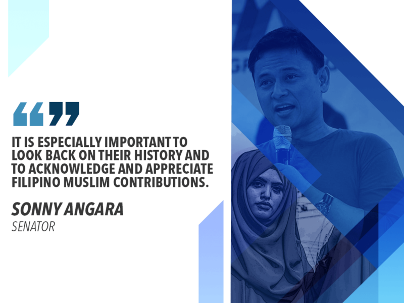 PH HISTORY, CULTURE INCOMPLETE WITHOUT FILIPINO MUSLIMS, IPs – ANGARA