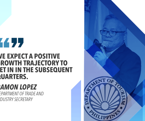 PH ON TRACK TO ATTAIN EXPORT TARGET – LOPEZ