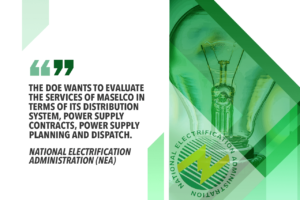 PROPOSALS MADE TO RESOLVE MASBATE POWER WOES – NEA