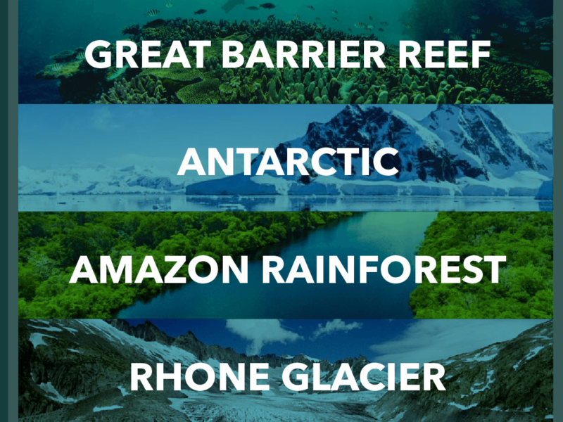 4 NATURAL WONDERS THAT NEED RESCUING