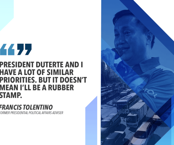 PASS EMERGENCY POWERS MEASURE TO SOLVE TRAFFIC WOES – TOLENTINO