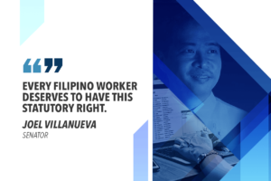 SENATE APPROVES ALTERNATIVE WORK ARRANGEMENT BILL – VILLANUEVA