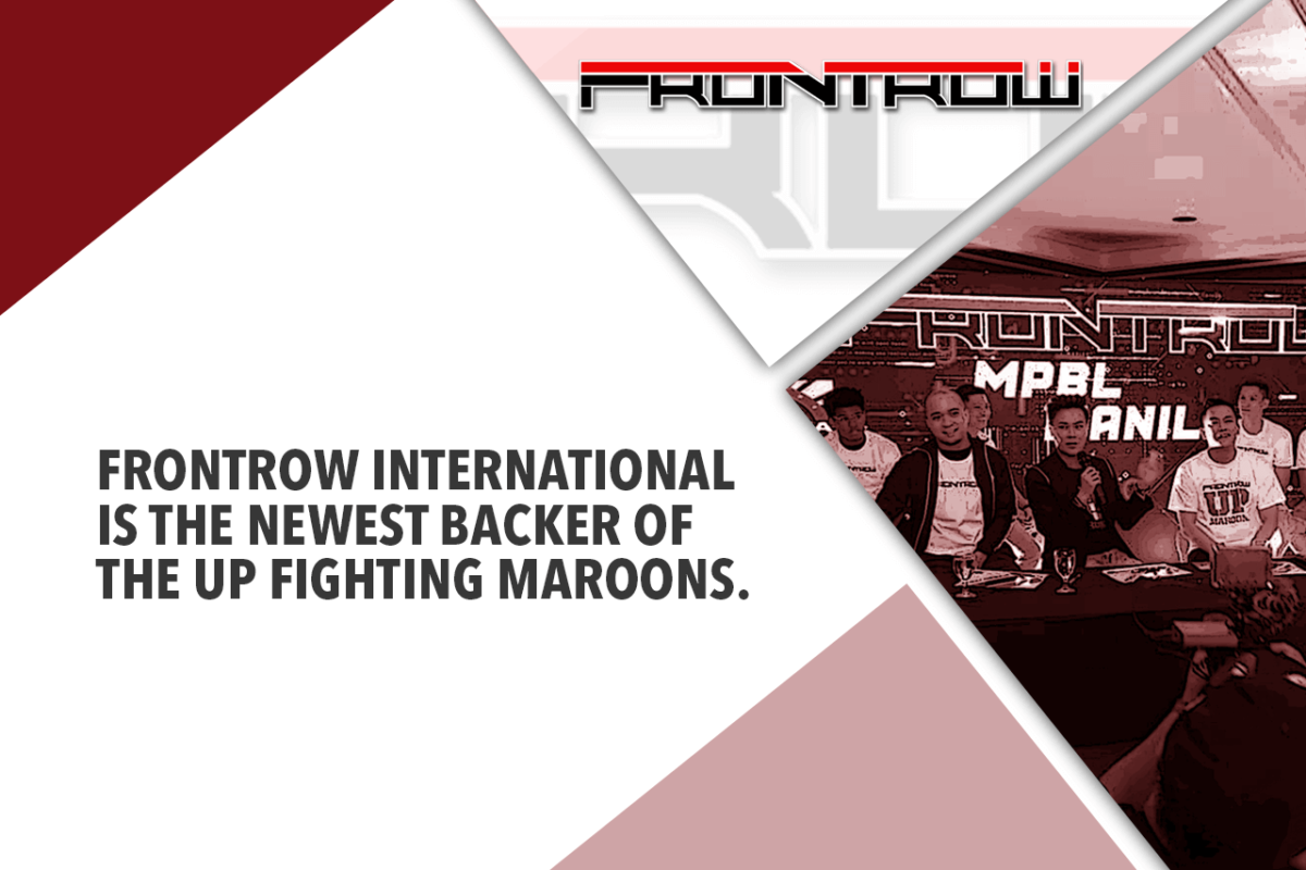 FRONTROW International throws support for UP Fighting Maroons