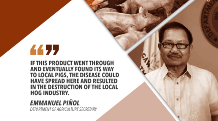 DON'T BRING CANNED PORK TO PHILIPPINES – PIÑOL