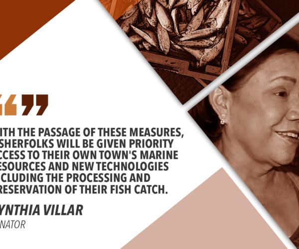 SENATE APPROVES FISHERIES CENTERS IN AKLAN, LANAO DEL NORTE, CAGAYAN – VILLAR