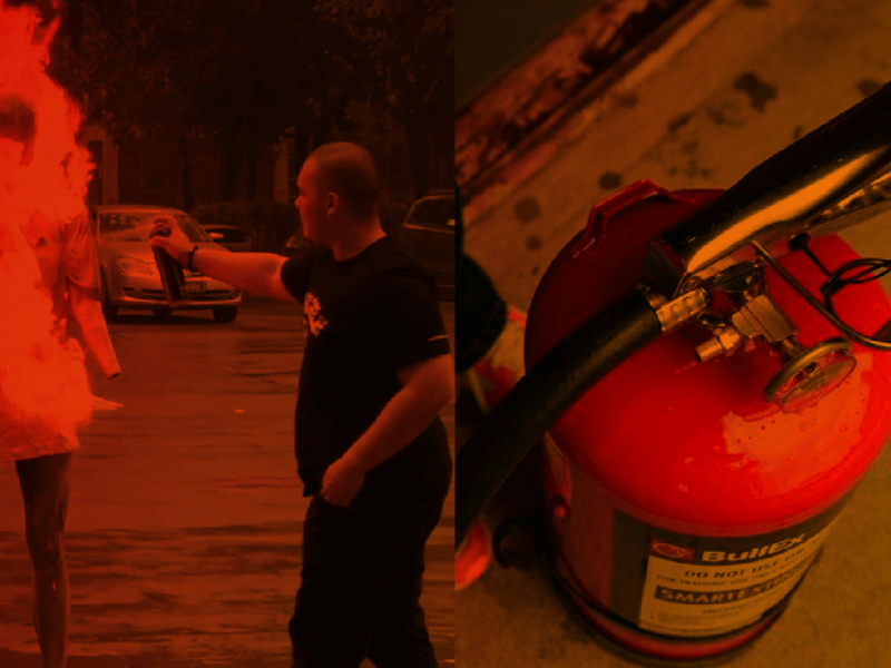 FAST ACTING FIRE EXTINGUISHER