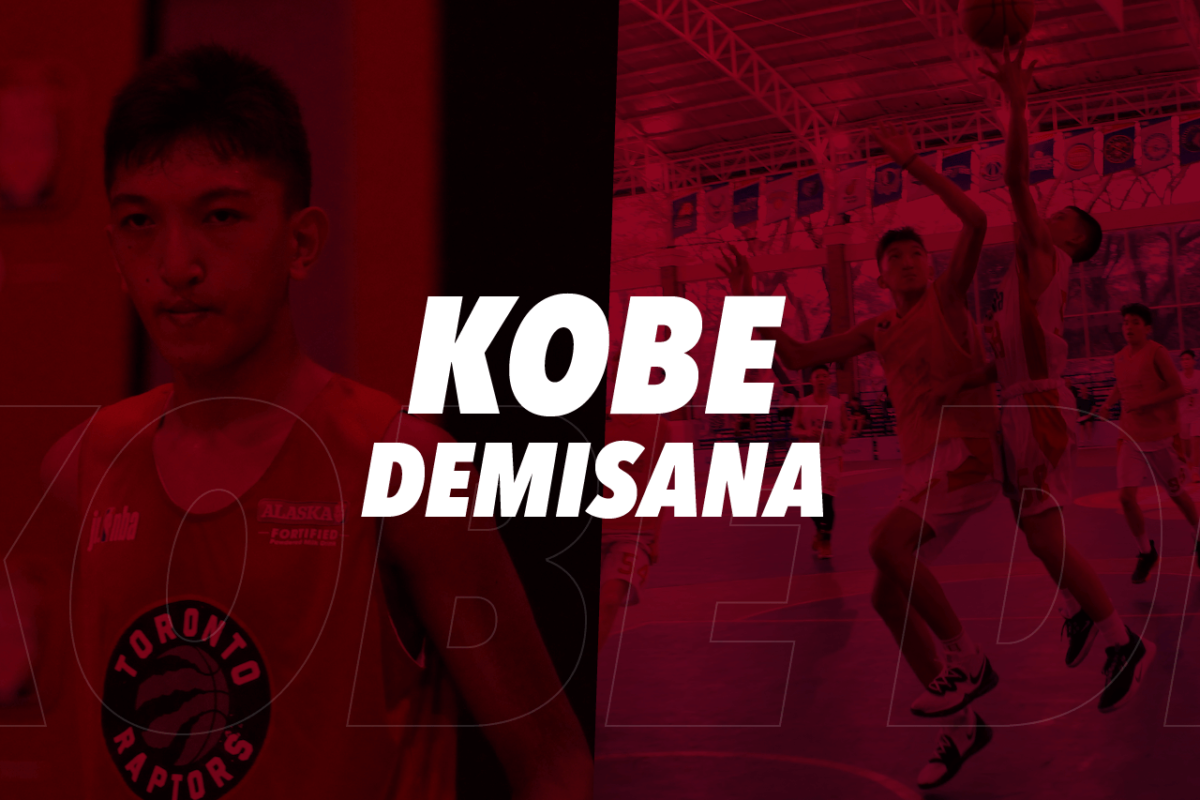 KOBE DEMISANA : THE JR. NBA'S GENTLE GIANT MAKES IT TO THE WORLD STAGE