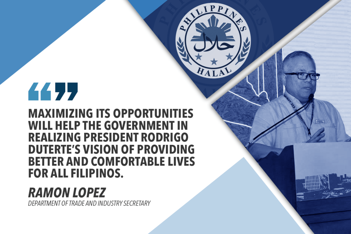 INCREASE PHILIPPINE HALAL PRODUCTS IN DOMESTIC, EXPORT MARKETS – LOPEZ