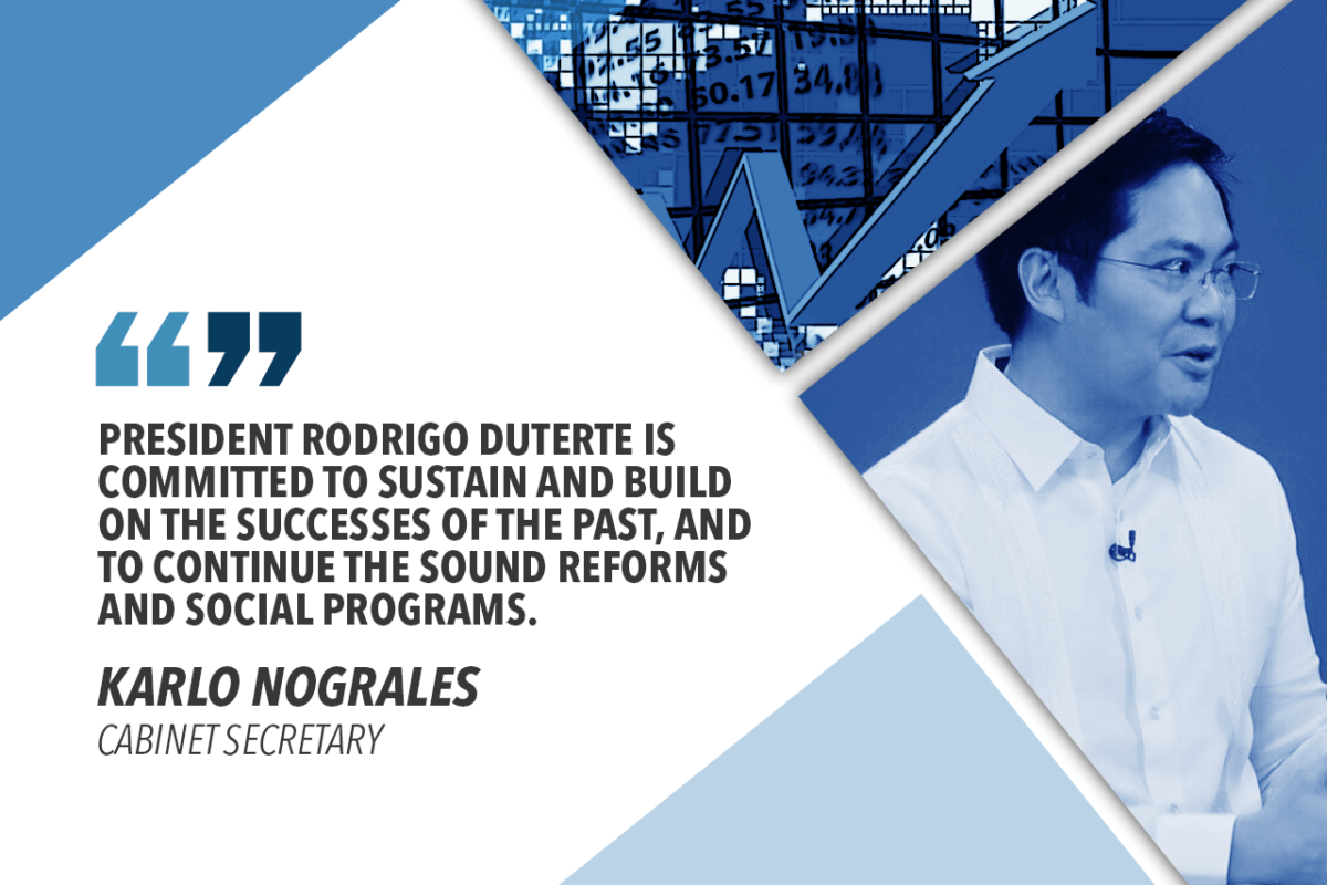 GOV'T ENCOURAGED BY DUTERTE RECORD-HIGH PERFORMANCE RATING – NOGRALES