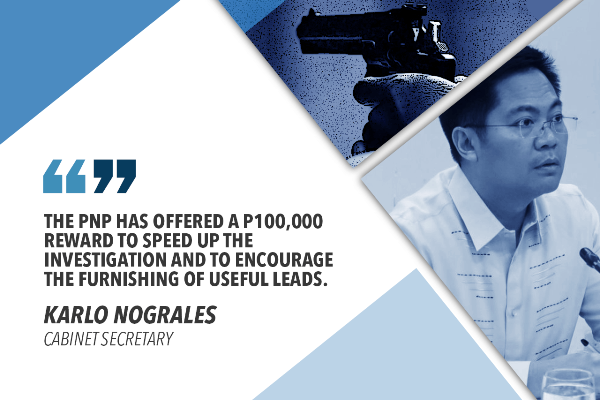 NOGRALES TO PNP: SPEED-UP PROBE INTO MURDER OF DINAGAT BOARD MEMBER