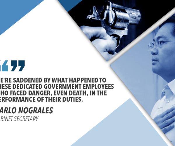 NOGRALES CONDEMNS GUN ATTACK ON LTO PERSONNEL IN SURIGAO
