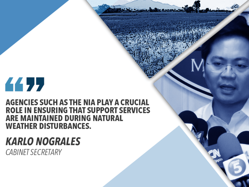NIA TO LOOK INTO AREAS DAMAGED BY 'FALCON' – NOGRALES