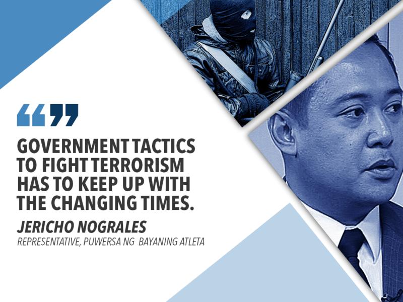 TOUGHEN ANTI-TERRORISM LAW IN THE PHILIPPINES – NOGRALES